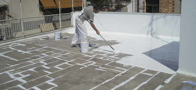 flexible membrance based waterproofing techniques